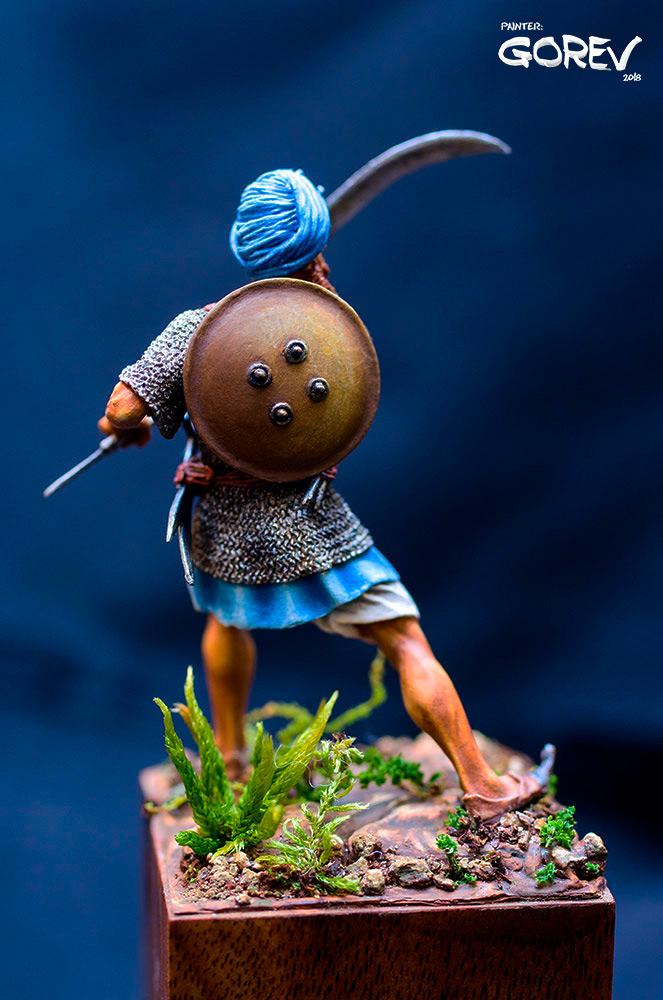 Figures: Akali Sikh warrior, India, XVII cent., photo #4