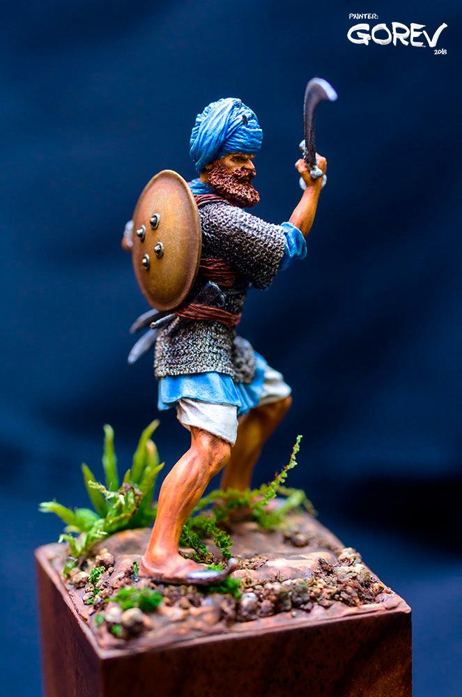 Figures: Akali Sikh warrior, India, XVII cent., photo #5