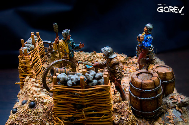 Dioramas and Vignettes: Load on!