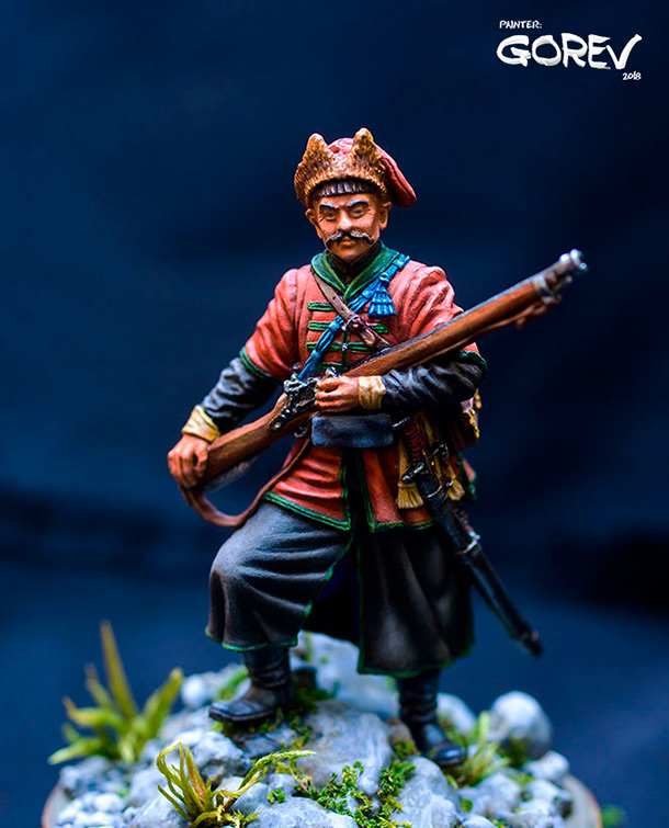 Figures: Register cossack