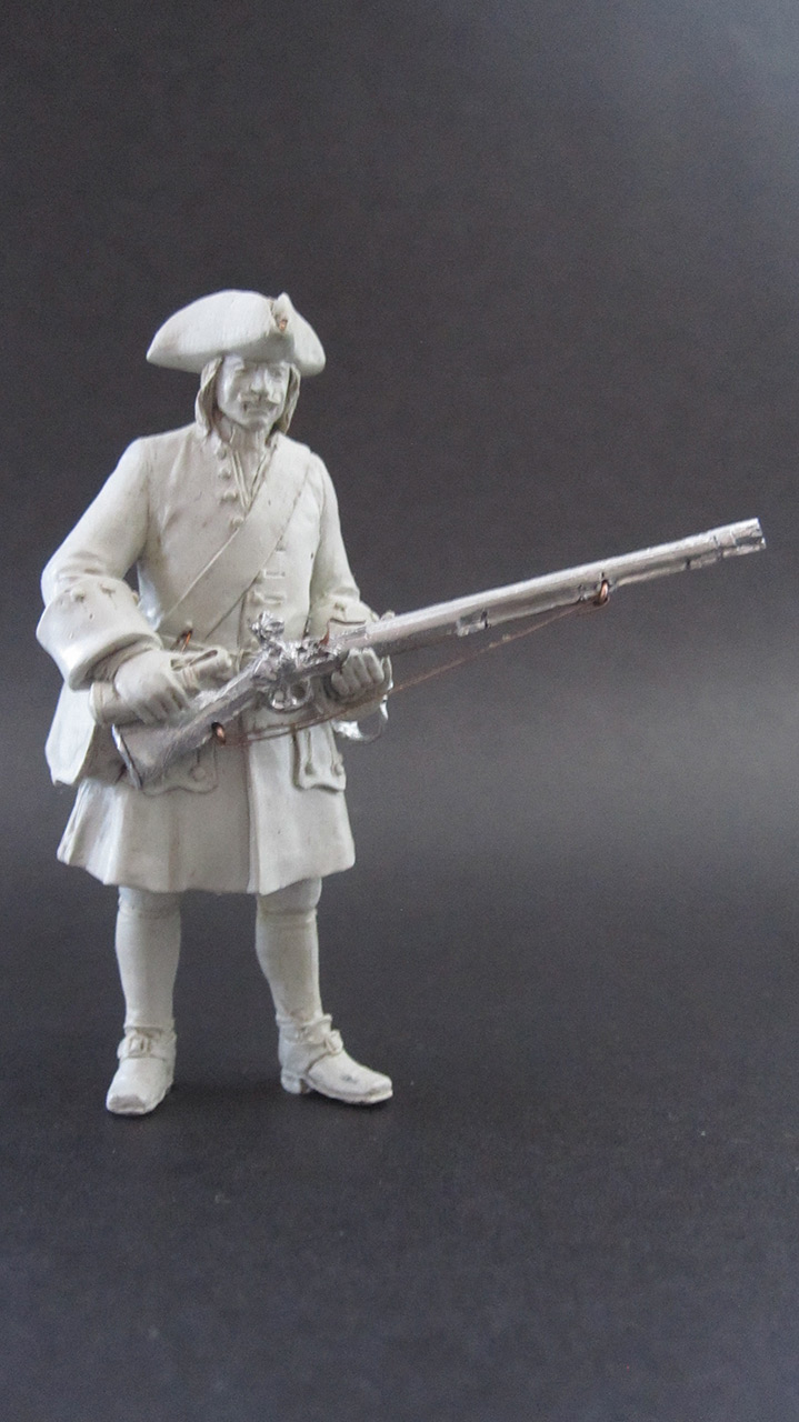 Sculpture: Fusilier, 1710, photo #1