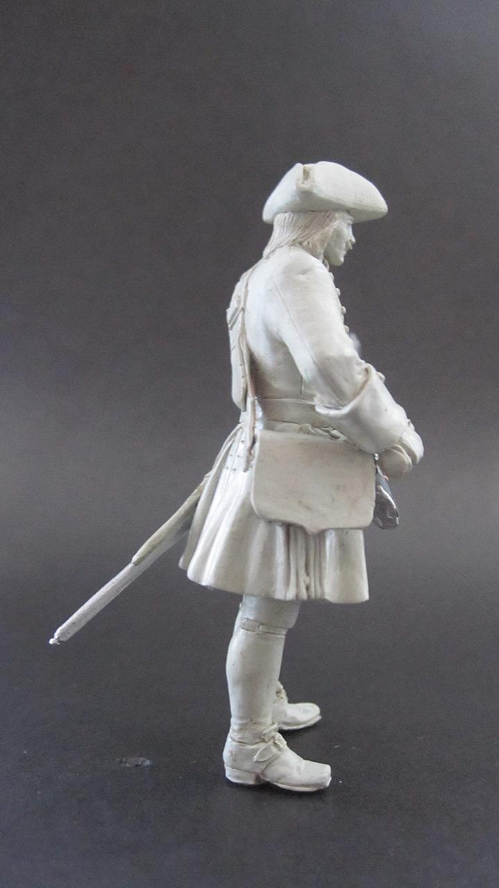 Sculpture: Fusilier, 1710, photo #2