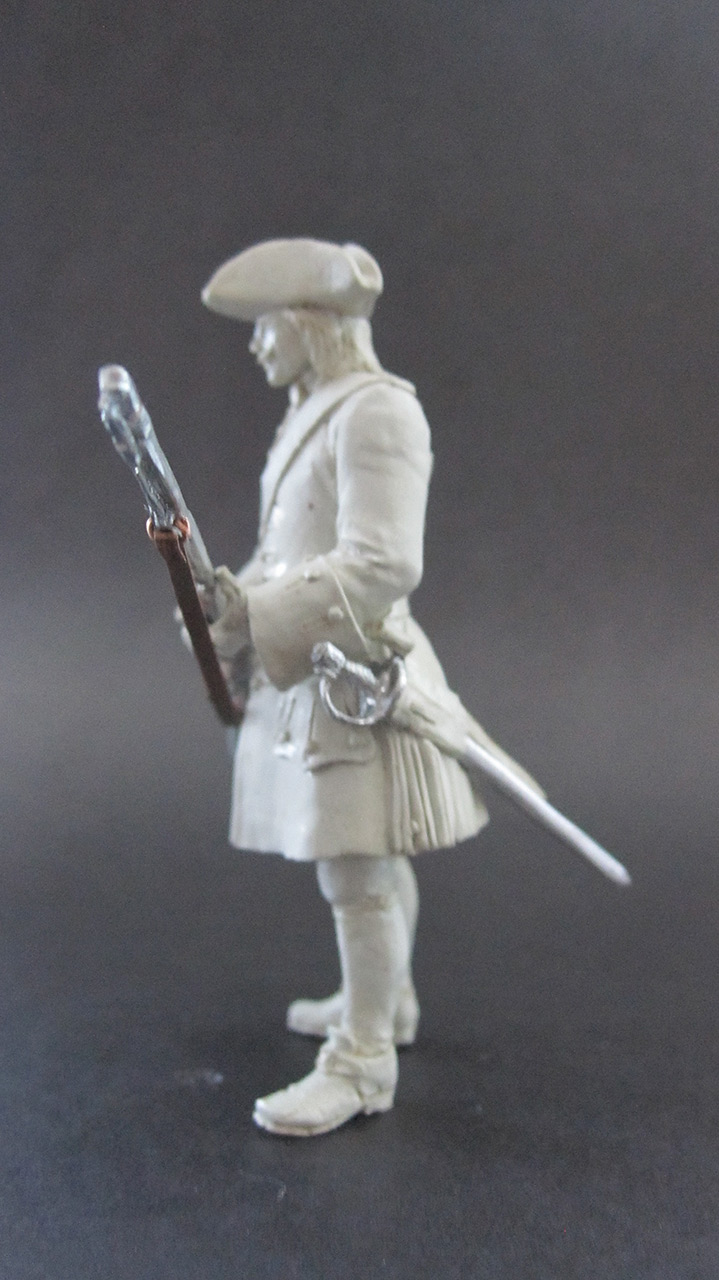 Sculpture: Fusilier, 1710, photo #3