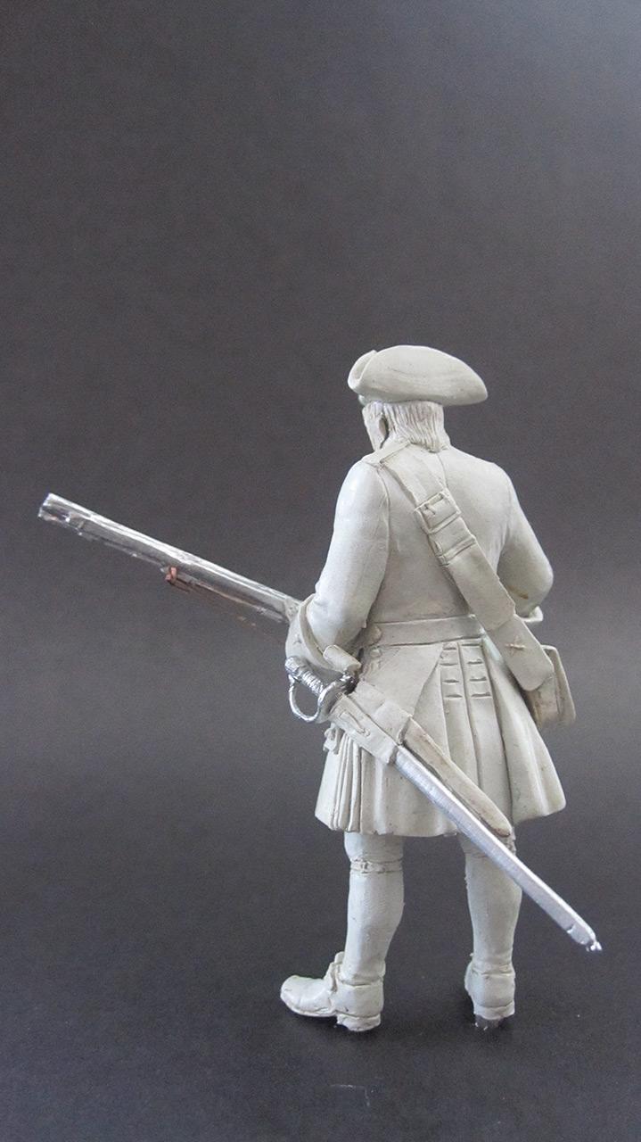 Sculpture: Fusilier, 1710, photo #4