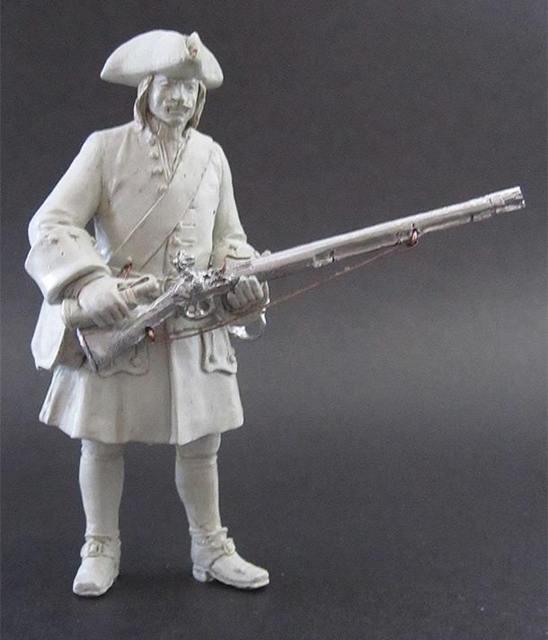 Sculpture: Fusilier, 1710