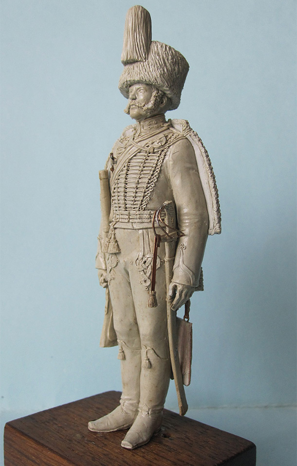Sculpture: Guards Hussar, 1838