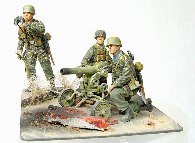 Dioramas and Vignettes: Enemy Tanks at Left!, photo #1