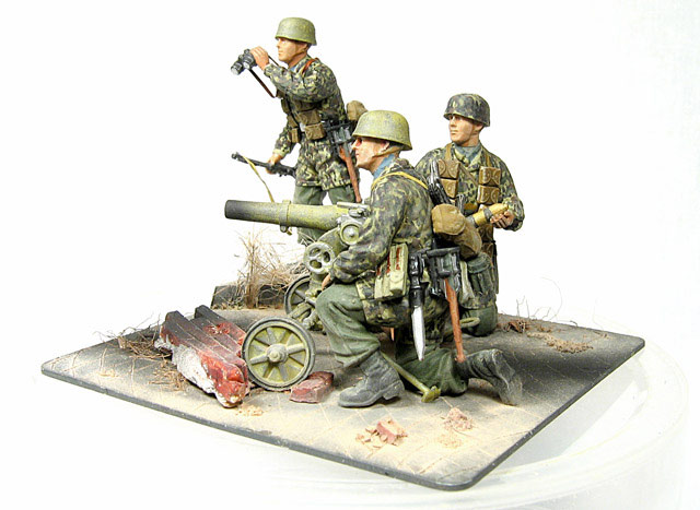 Dioramas and Vignettes: Enemy Tanks at Left!, photo #2