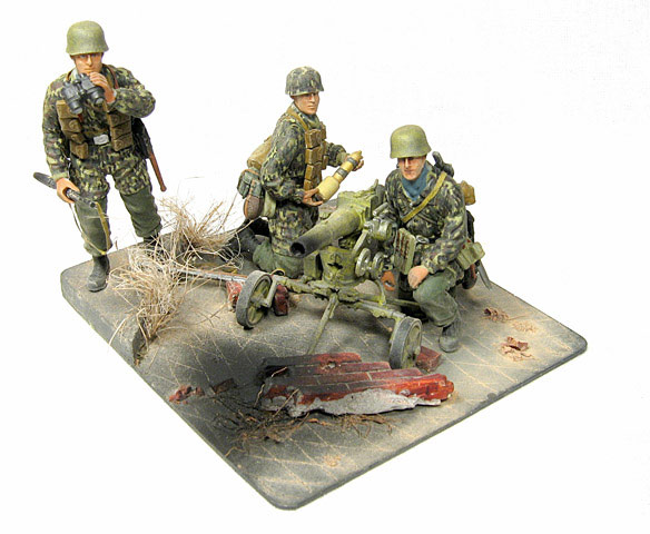 Dioramas and Vignettes: Enemy Tanks at Left!, photo #5