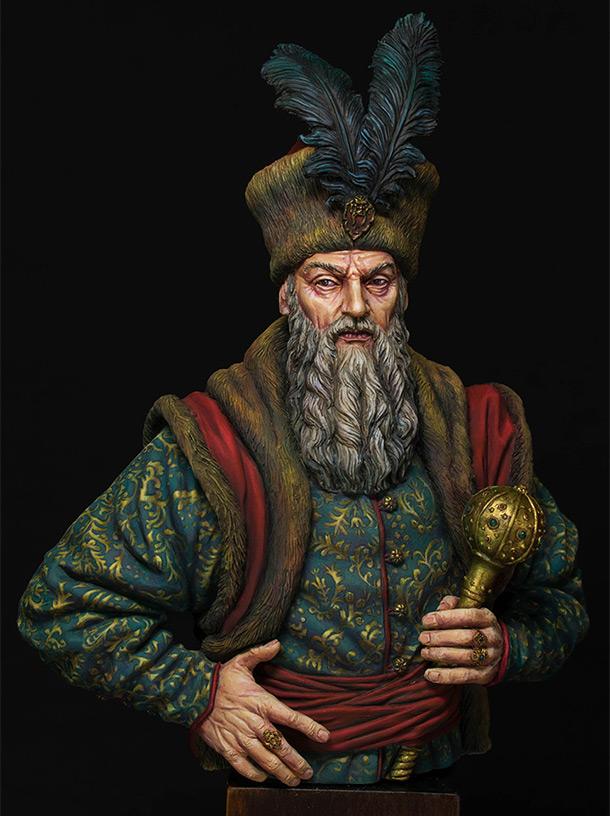 Figures: Hetman Pyotr Sagaydachniy