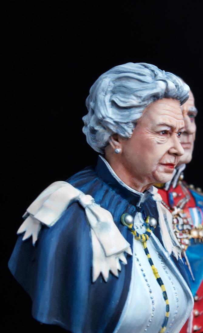 Figures: Elizabeth II and Prince Philip, photo #12