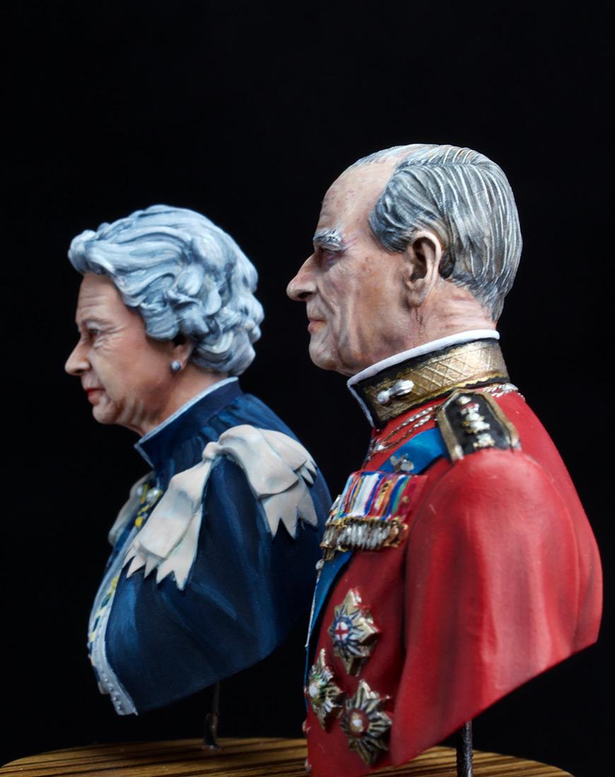 Figures: Elizabeth II and Prince Philip, photo #5