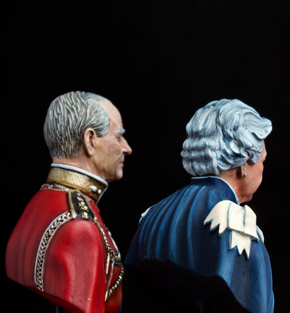Figures: Elizabeth II and Prince Philip, photo #6