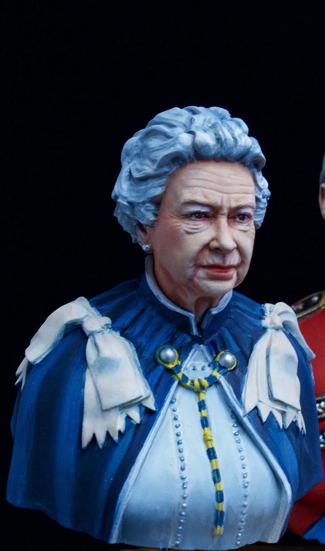 Figures: Elizabeth II and Prince Philip, photo #7
