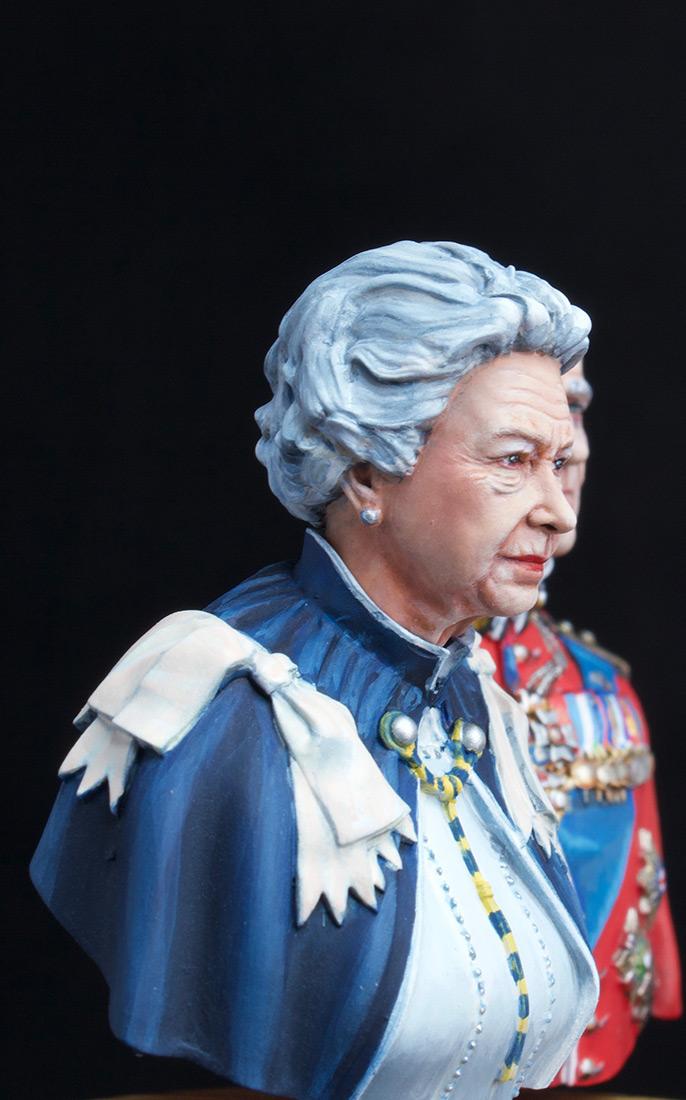 Figures: Elizabeth II and Prince Philip, photo #9