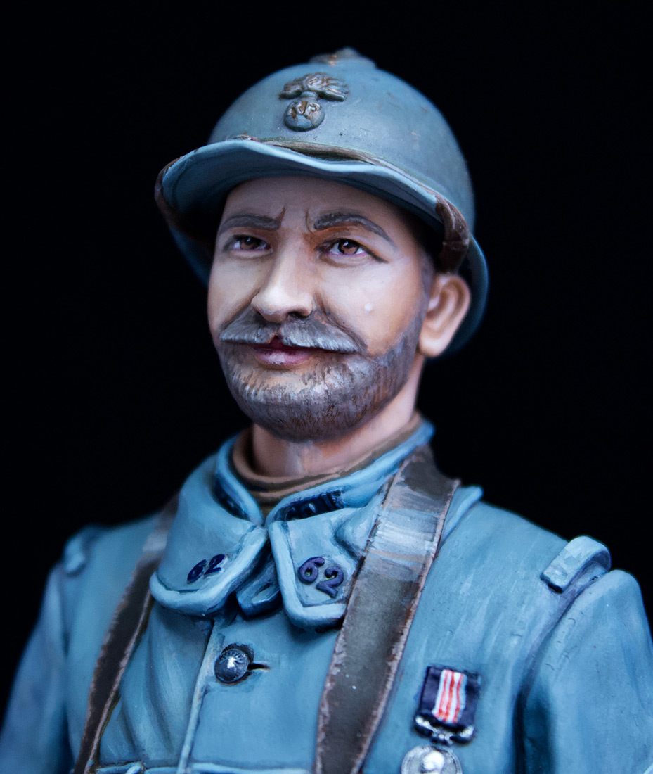 Figures: French Chauchat MG Gunner, 62nd regt, 1916, photo #7