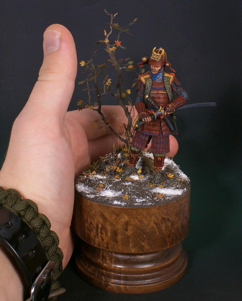 Figures: Samurai, XVI cent., photo #10