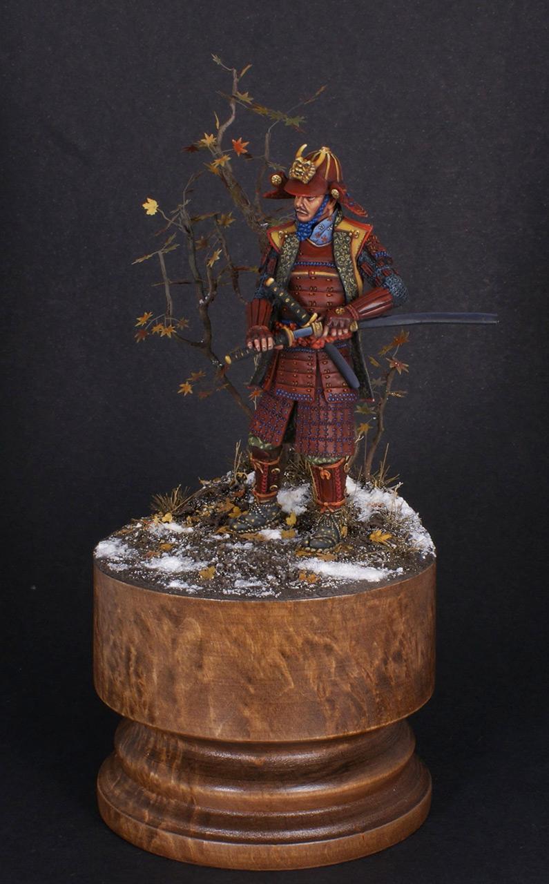 Figures: Samurai, XVI cent., photo #11