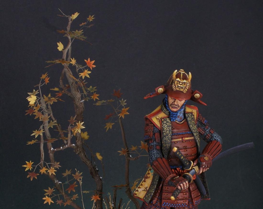Figures: Samurai, XVI cent., photo #12