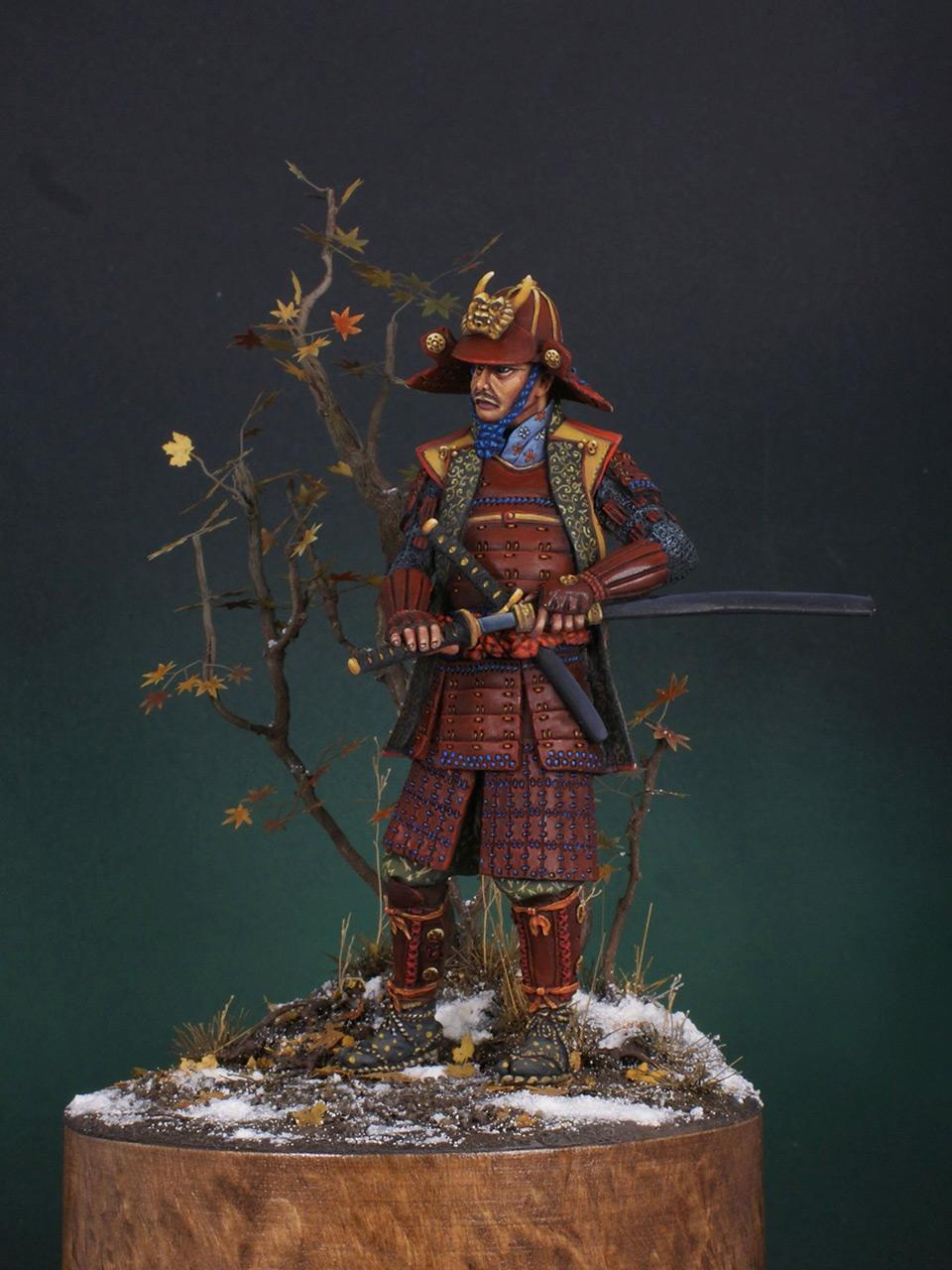 Figures: Samurai, XVI cent., photo #8