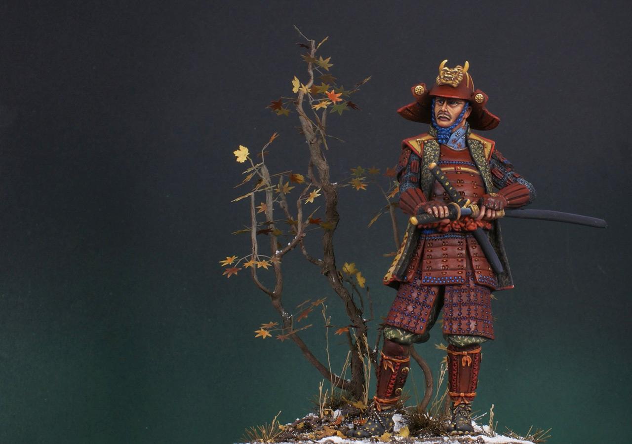 Figures: Samurai, XVI cent., photo #9