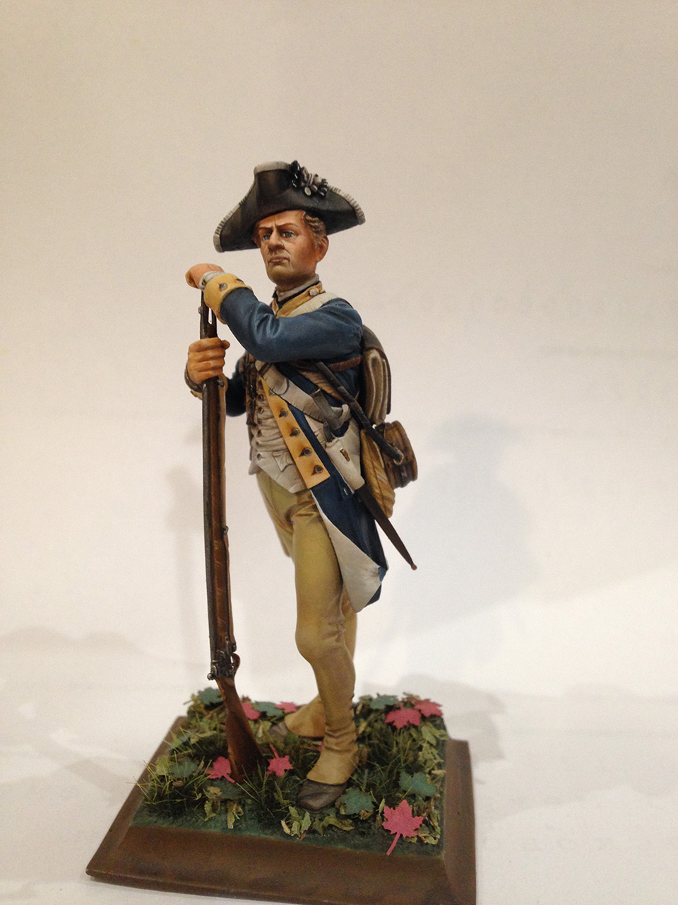 Figures: Private, 1st New York regt. of Continental Army, photo #1