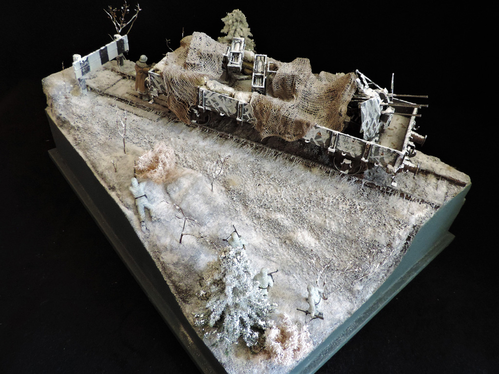 Dioramas and Vignettes: New year's visit, photo #1