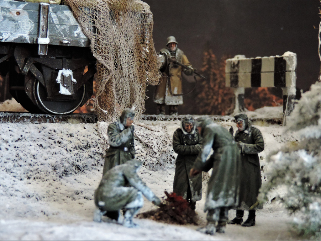 Dioramas and Vignettes: New year's visit, photo #16