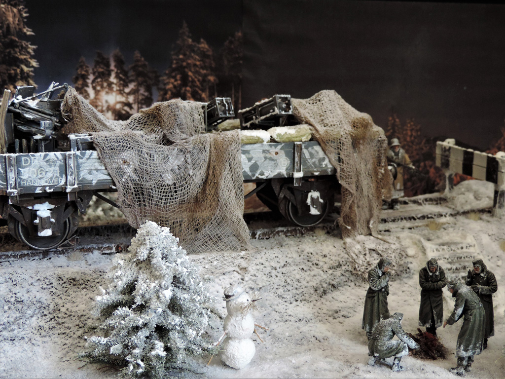 Dioramas and Vignettes: New year's visit, photo #17