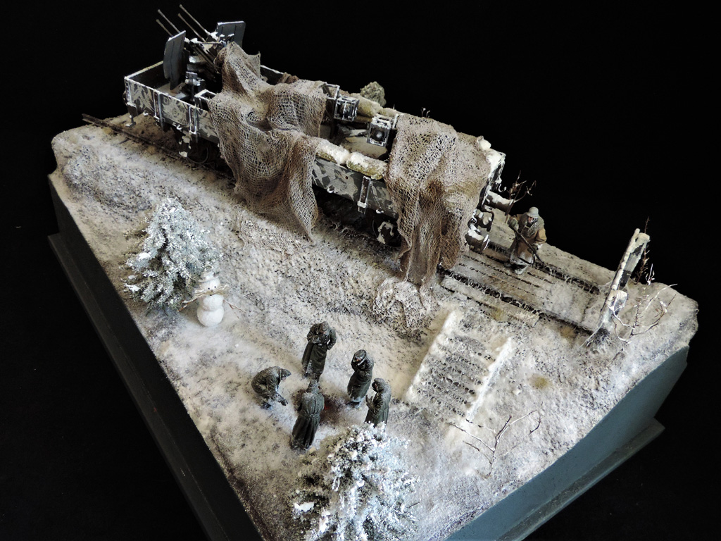 Dioramas and Vignettes: New year's visit, photo #2