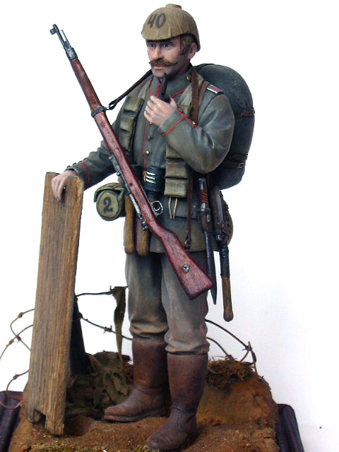 Figures: German Assault Trooper, 1915-16, photo #10
