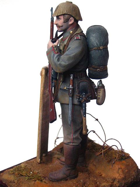 Figures: German Assault Trooper, 1915-16, photo #11