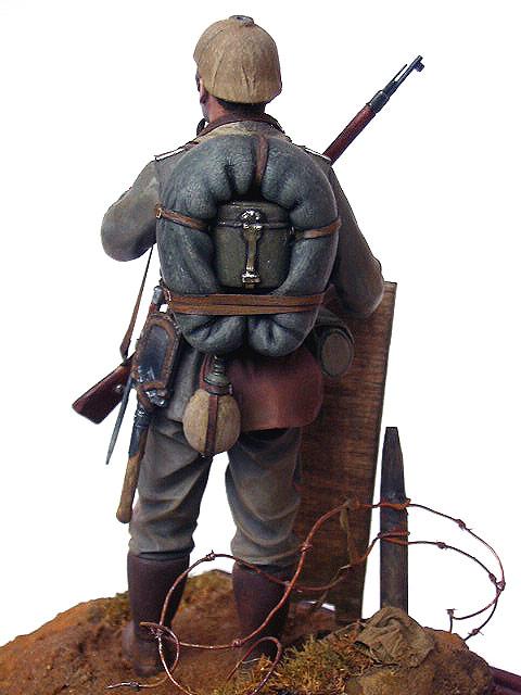 Figures: German Assault Trooper, 1915-16, photo #12