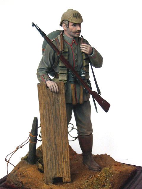 Figures: German Assault Trooper, 1915-16, photo #13