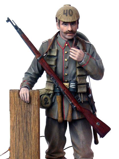 Figures: German Assault Trooper, 1915-16, photo #14