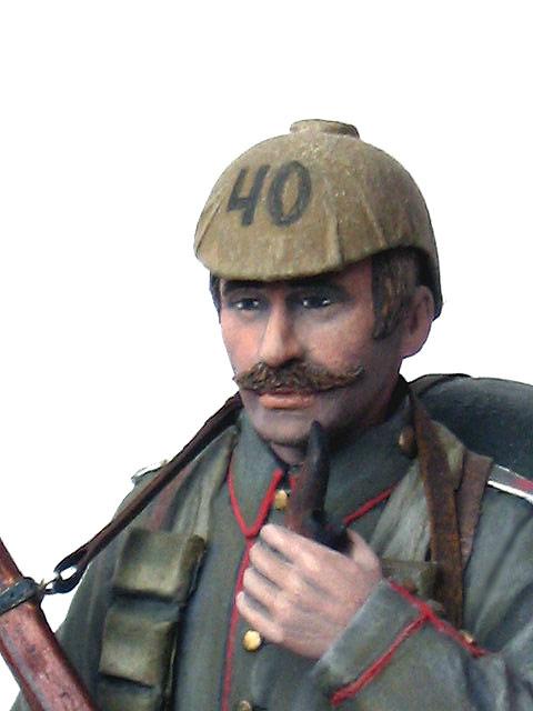 Figures: German Assault Trooper, 1915-16, photo #15