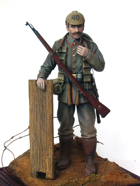 Figures: German Assault Trooper, 1915-16, photo #9