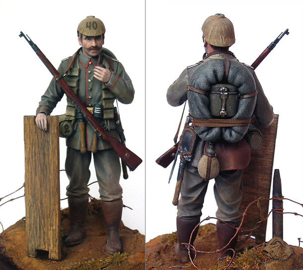 Figures: German Assault Trooper, 1915-16