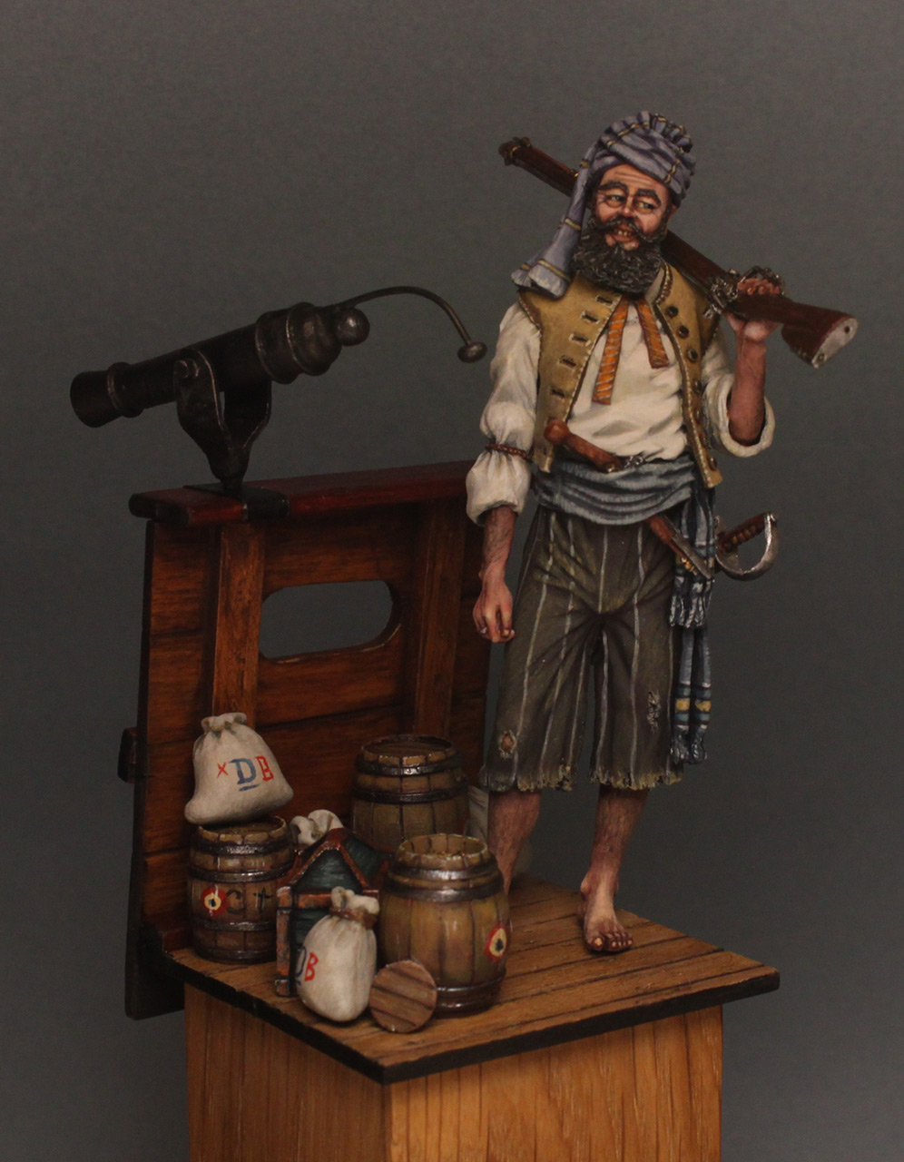 Dioramas and Vignettes: Good catch, photo #1