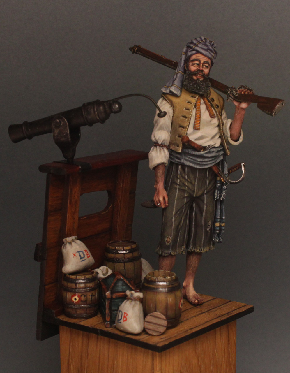 Dioramas and Vignettes: Good catch, photo #3