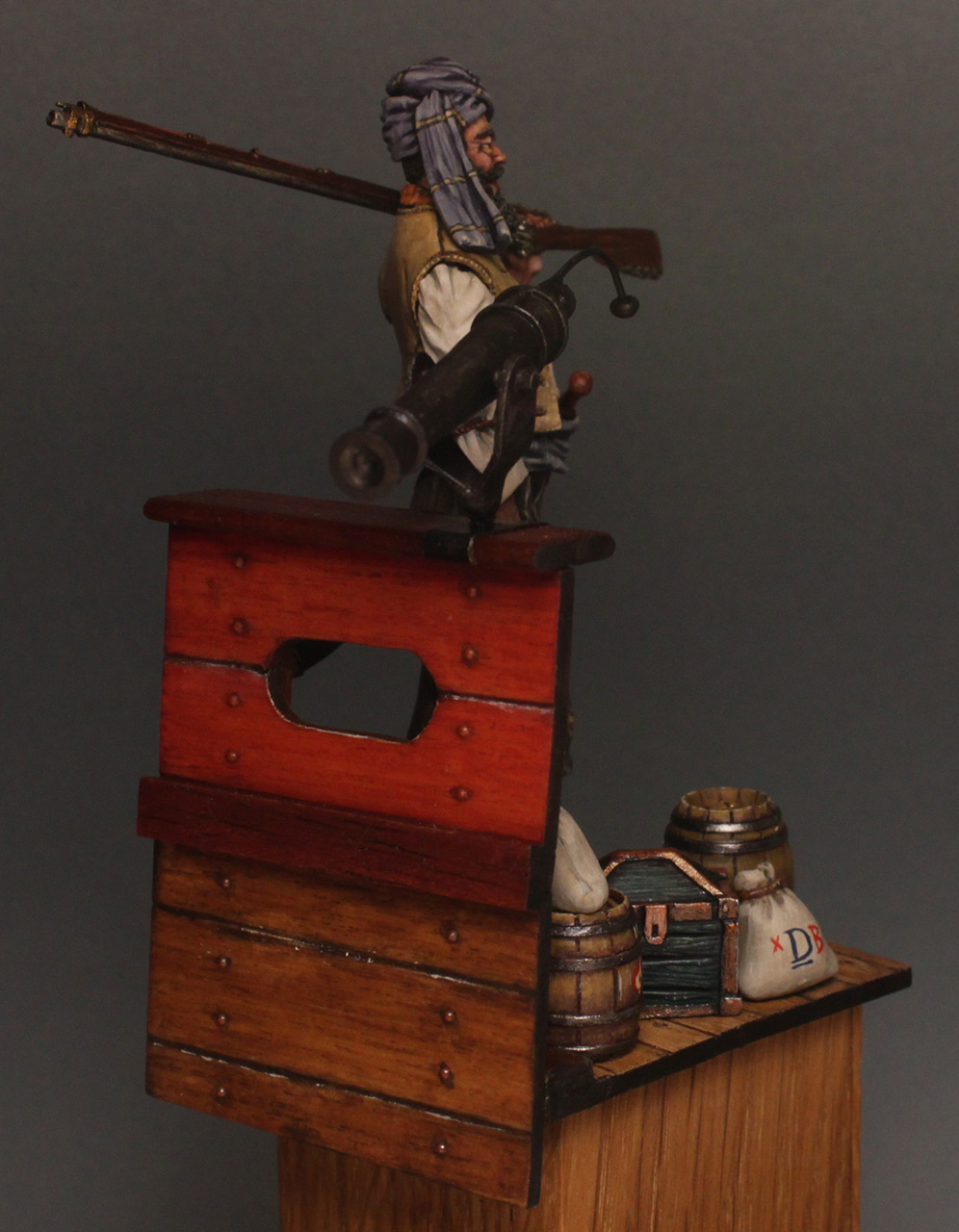 Dioramas and Vignettes: Good catch, photo #5