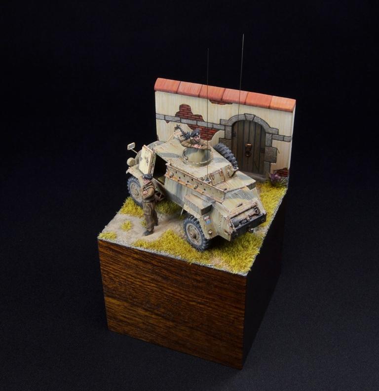 Dioramas and Vignettes: Otter - light reconnaissance AC, photo #10