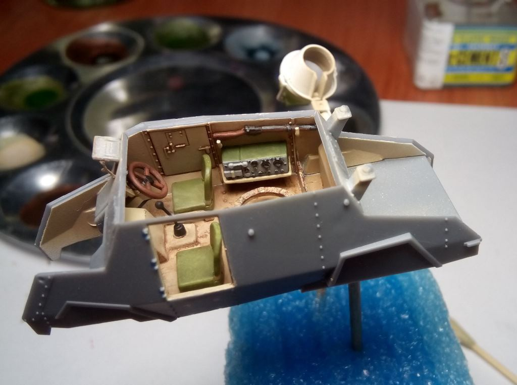 Dioramas and Vignettes: Otter - light reconnaissance AC, photo #15