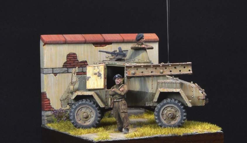 Dioramas and Vignettes: Otter - light reconnaissance AC, photo #4