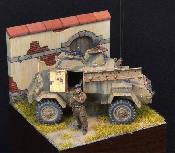 Dioramas and Vignettes: Otter - light reconnaissance AC