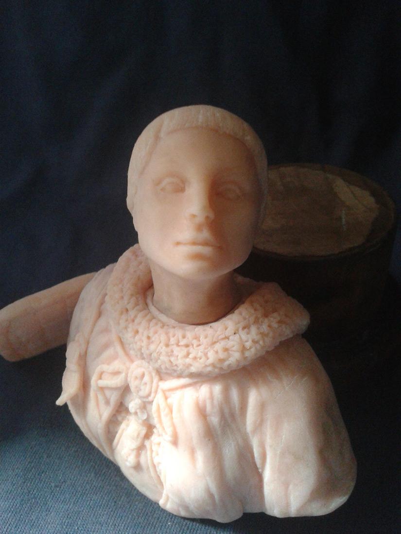 Sculpture: Maid of Orlean, photo #3
