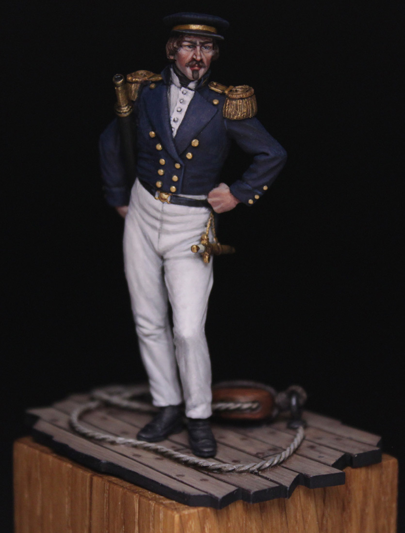 Figures:  Capitaine de corvette, France 1845, photo #1