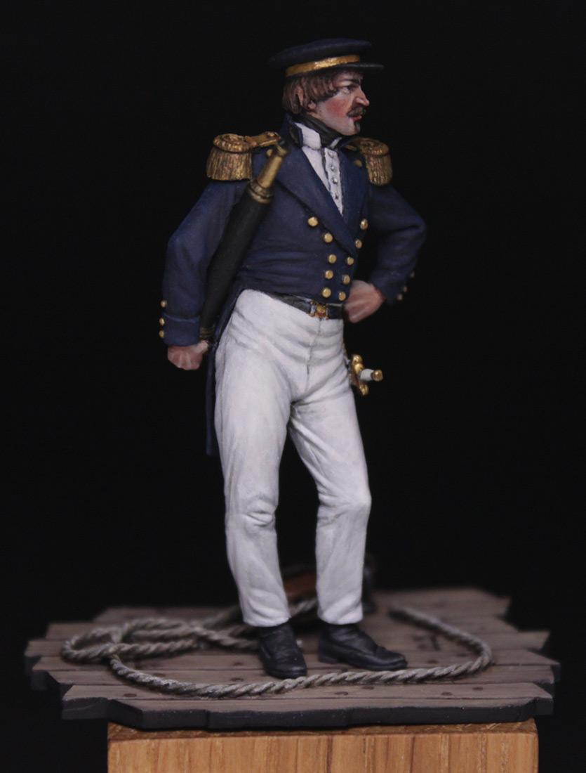 Figures:  Capitaine de corvette, France 1845, photo #2