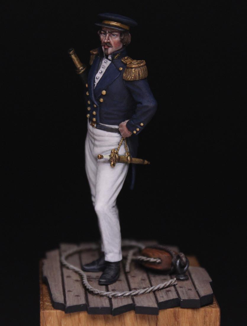 Figures:  Capitaine de corvette, France 1845, photo #3