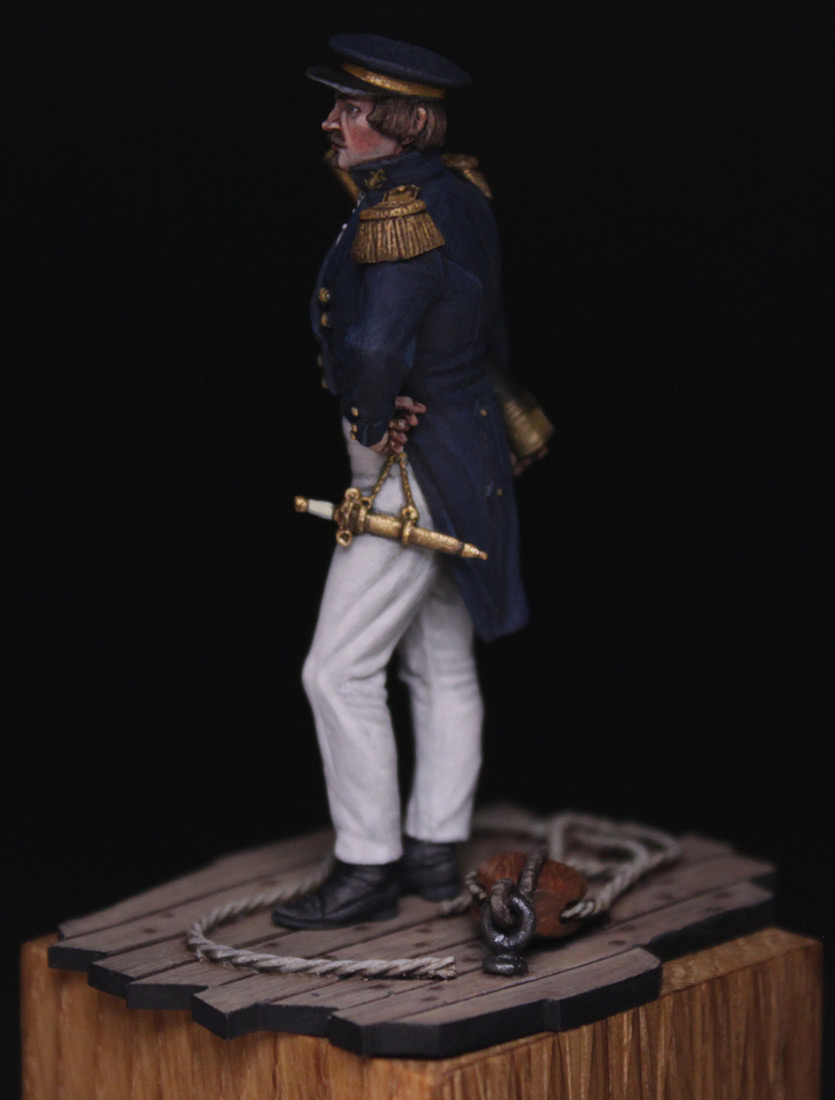 Figures:  Capitaine de corvette, France 1845, photo #4